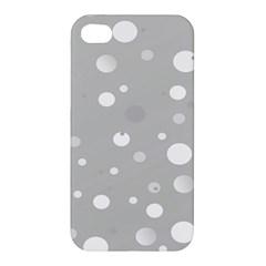 Decorative Dots Pattern Apple Iphone 4/4s Premium Hardshell Case by ValentinaDesign