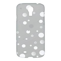 Decorative Dots Pattern Samsung Galaxy S4 I9500/i9505 Hardshell Case by ValentinaDesign