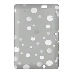 Decorative Dots Pattern Kindle Fire Hdx 8 9  Hardshell Case by ValentinaDesign
