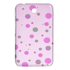 Decorative Dots Pattern Samsung Galaxy Tab 3 (7 ) P3200 Hardshell Case  by ValentinaDesign