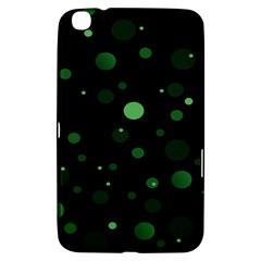 Decorative Dots Pattern Samsung Galaxy Tab 3 (8 ) T3100 Hardshell Case  by ValentinaDesign