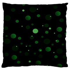 Decorative Dots Pattern Standard Flano Cushion Case (two Sides) by ValentinaDesign
