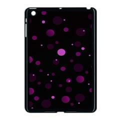 Decorative Dots Pattern Apple Ipad Mini Case (black) by ValentinaDesign