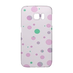 Decorative Dots Pattern Galaxy S6 Edge by ValentinaDesign