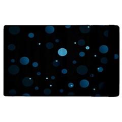 Decorative Dots Pattern Apple Ipad 3/4 Flip Case by ValentinaDesign