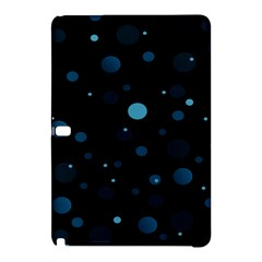 Decorative Dots Pattern Samsung Galaxy Tab Pro 12 2 Hardshell Case by ValentinaDesign