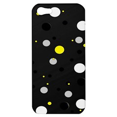 Decorative Dots Pattern Apple Iphone 5 Hardshell Case by ValentinaDesign
