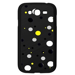 Decorative Dots Pattern Samsung Galaxy Grand Duos I9082 Case (black) by ValentinaDesign