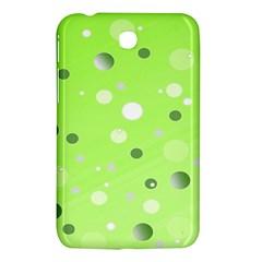 Decorative Dots Pattern Samsung Galaxy Tab 3 (7 ) P3200 Hardshell Case  by ValentinaDesign