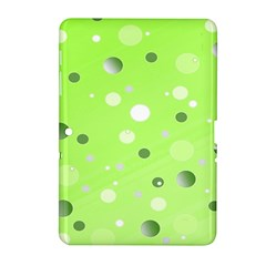 Decorative Dots Pattern Samsung Galaxy Tab 2 (10 1 ) P5100 Hardshell Case  by ValentinaDesign