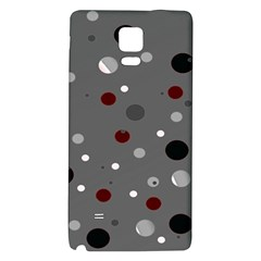 Decorative Dots Pattern Galaxy Note 4 Back Case by ValentinaDesign