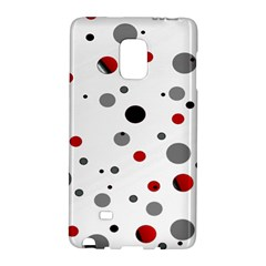 Decorative Dots Pattern Galaxy Note Edge by ValentinaDesign