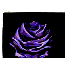 Rose Flower Design Nature Blossom Cosmetic Bag (xxl)  by Nexatart
