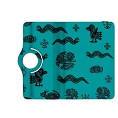 Aztecs Pattern Kindle Fire Hdx 8 9  Flip 360 Case by ValentinaDesign