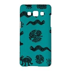 Aztecs Pattern Samsung Galaxy A5 Hardshell Case  by ValentinaDesign