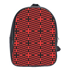 Abstract Background Red Black School Bags (xl)  by Nexatart