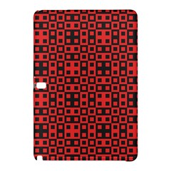 Abstract Background Red Black Samsung Galaxy Tab Pro 12 2 Hardshell Case by Nexatart