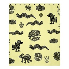 Aztecs Pattern Shower Curtain 60  X 72  (medium)  by ValentinaDesign