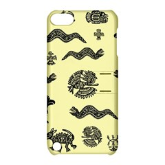 Aztecs Pattern Apple Ipod Touch 5 Hardshell Case With Stand by ValentinaDesign