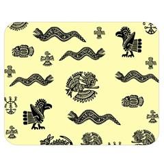 Aztecs Pattern Double Sided Flano Blanket (medium)  by ValentinaDesign