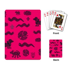 Aztecs Pattern Playing Card by ValentinaDesign