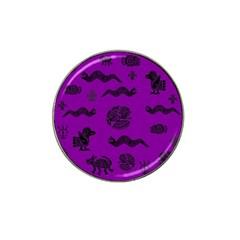 Aztecs Pattern Hat Clip Ball Marker by ValentinaDesign