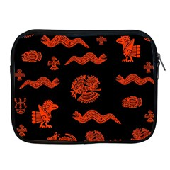 Aztecs Pattern Apple Ipad 2/3/4 Zipper Cases by ValentinaDesign