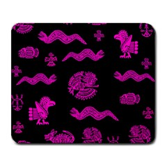 Aztecs Pattern Large Mousepads by ValentinaDesign