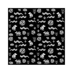 Aztecs Pattern Acrylic Tangram Puzzle (6  X 6 ) by ValentinaDesign