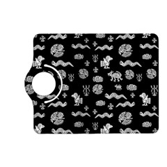 Aztecs Pattern Kindle Fire Hd (2013) Flip 360 Case by ValentinaDesign