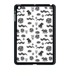 Aztecs Pattern Apple Ipad Mini Case (black) by ValentinaDesign