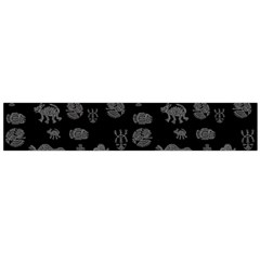 Aztecs Pattern Flano Scarf (large) by ValentinaDesign