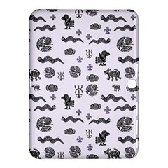 Aztecs Pattern Samsung Galaxy Tab 4 (10 1 ) Hardshell Case  by ValentinaDesign