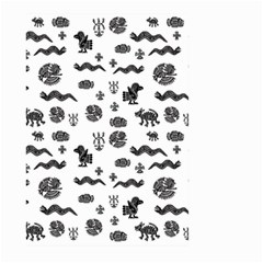 Aztecs Pattern Large Garden Flag (two Sides) by ValentinaDesign