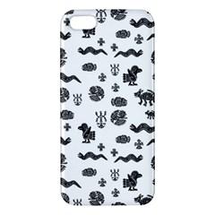 Aztecs Pattern Iphone 5s/ Se Premium Hardshell Case by ValentinaDesign