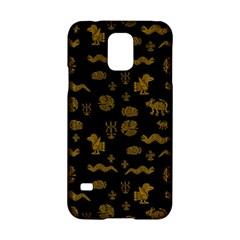 Aztecs Pattern Samsung Galaxy S5 Hardshell Case  by ValentinaDesign
