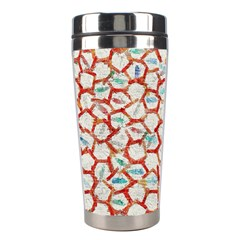 Honeycomb Pattern             Stainless Steel Travel Tumbler by LalyLauraFLM