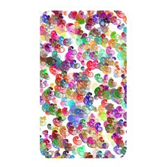 Colorful Spirals On A White Background             Memory Card Reader (rectangular) by LalyLauraFLM