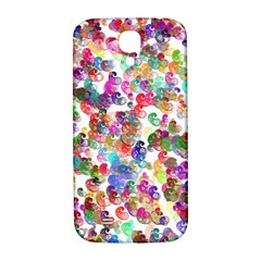 Colorful spirals on a white background       Samsung Note 2 N7100 Hardshell Back Case by LalyLauraFLM