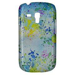 Watercolors splashes        Samsung Galaxy Ace Plus S7500 Hardshell Case by LalyLauraFLM