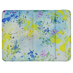 Watercolors Splashes        Htc One M7 Hardshell Case by LalyLauraFLM