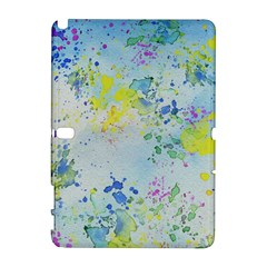 Watercolors Splashes        Htc Desire 601 Hardshell Case by LalyLauraFLM
