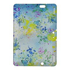 Watercolors Splashes        Kindle Fire Hdx Hardshell Case by LalyLauraFLM