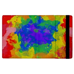 Colorful Paint Texture     Kindle Fire (1st Gen) Flip Case by LalyLauraFLM