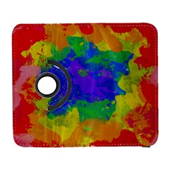 Colorful Paint Texture     Samsung Galaxy Note Ii Flip 360 Case by LalyLauraFLM