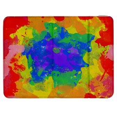 Colorful Paint Texture     Htc One M7 Hardshell Case by LalyLauraFLM