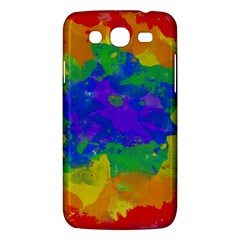 Colorful paint texture     Samsung Galaxy Duos I8262 Hardshell Case by LalyLauraFLM
