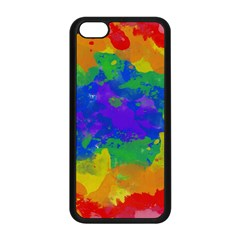 Colorful Paint Texture     Iphone 5s Premium Hardshell Case by LalyLauraFLM