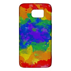 Colorful Paint Texture     Htc One M9 Hardshell Case by LalyLauraFLM