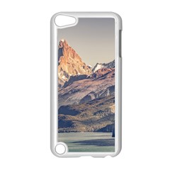 Fitz Roy And Poincenot Mountains Lake View   Patagonia Apple Ipod Touch 5 Case (white) by dflcprints